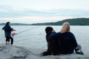 Leo fishing