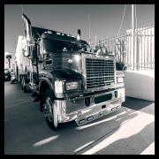 A Mack truck.