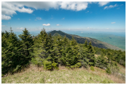 From Mount Mitchell summit