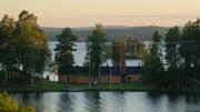 View from STF Hostel Tallbacka, Ängelsberg, Västmanland