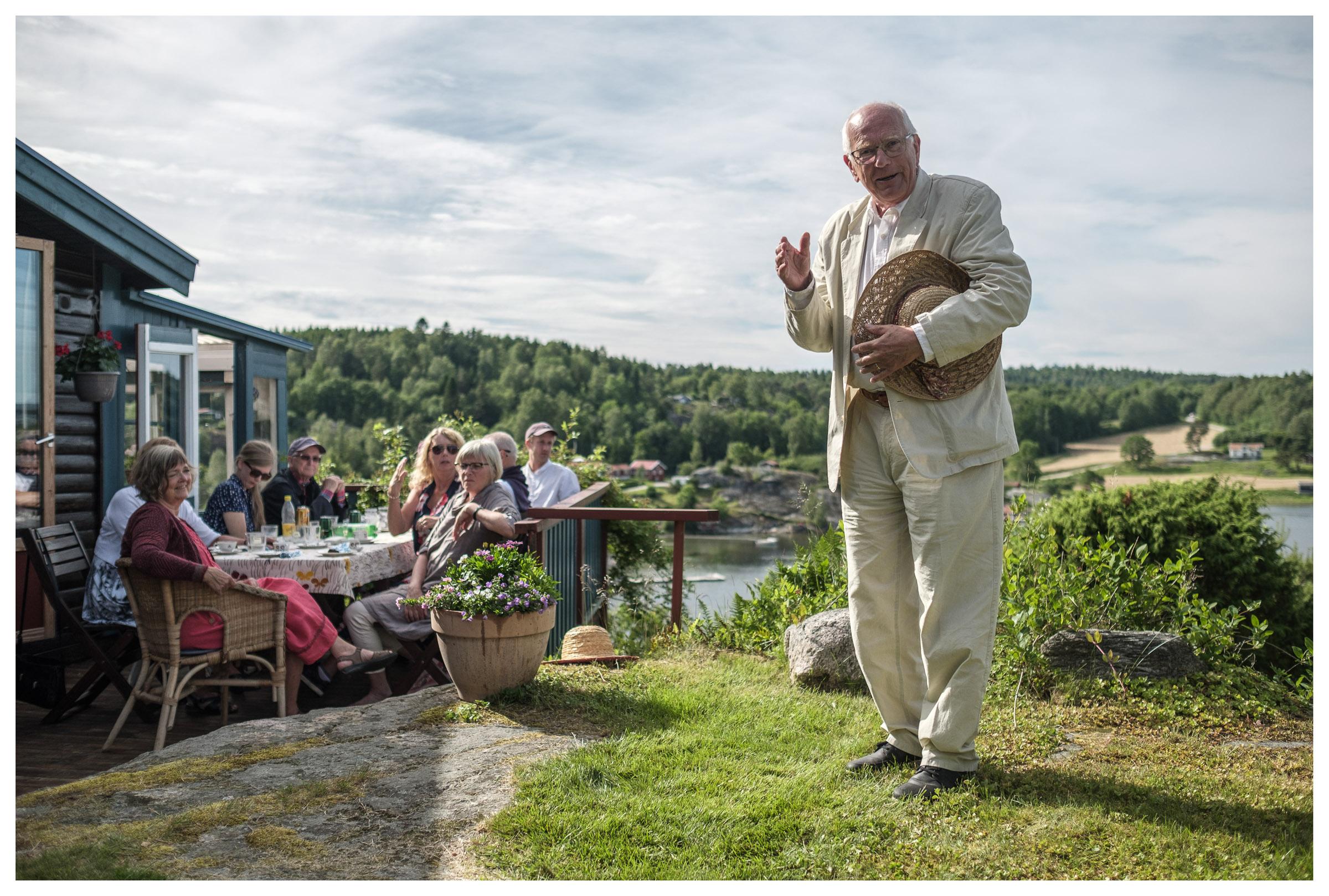 Thorbjörnsson family reunion at Slussen