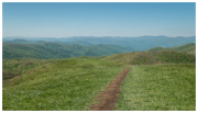 Looking south from Max Patch