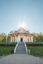 The Thai Pavilion in honour of King Chulalongkorn in Bispgården, Jämtland