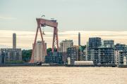 The Eriksberg gantry crane.