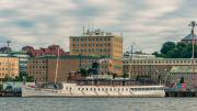 "The steam ferry boat ""Bohuslän""."