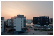 Cool sunset over Sannegården